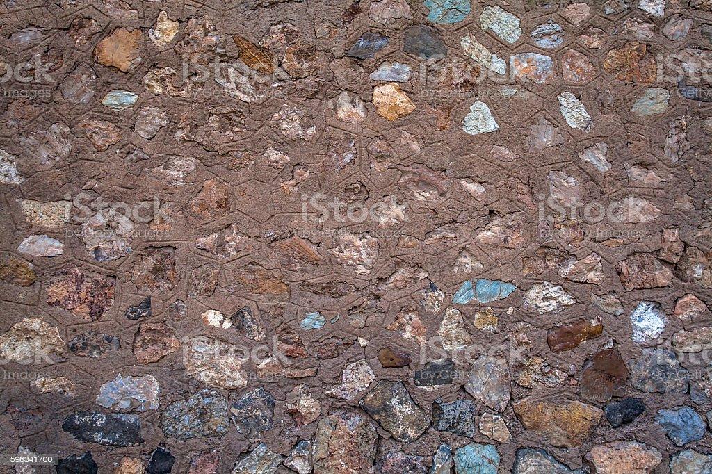 Stone wall  Lizenzfreies stock-foto