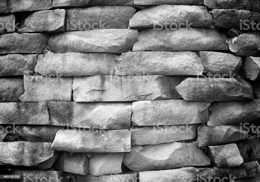 石頭牆 免版稅 stock photo