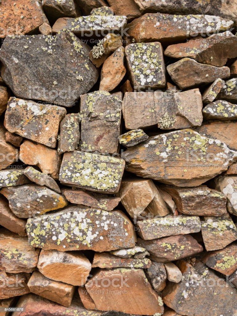 Stone wall. stock photo
