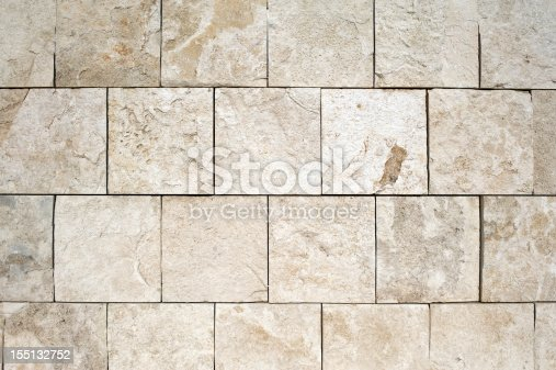 istock Stone Wall Texture Background Pattern 155132752