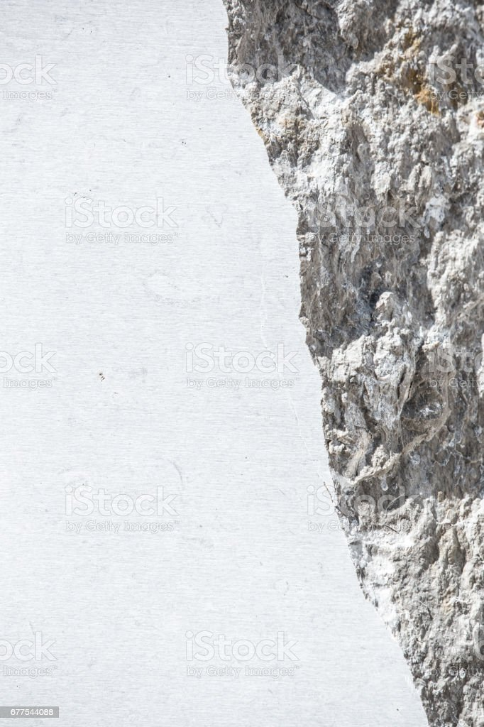 Stone Wall Texture Copy Space royalty-free stock photo