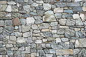 istock Stone wall texture 154416206