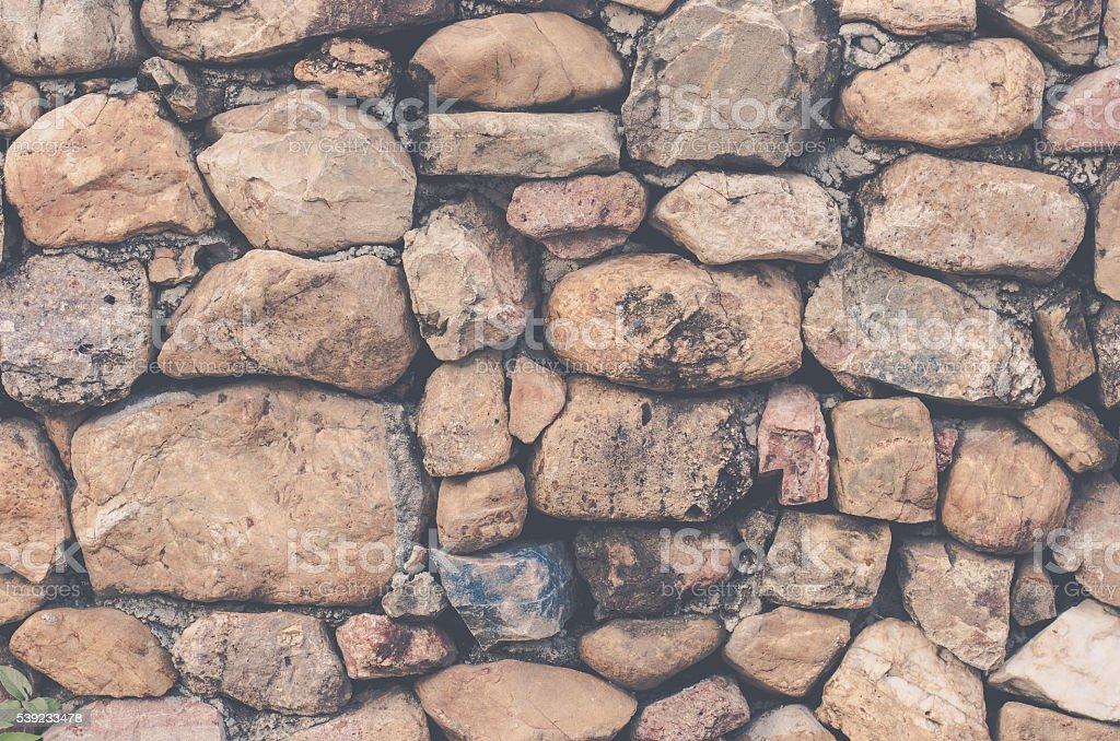 stone wall texture royalty-free stock photo