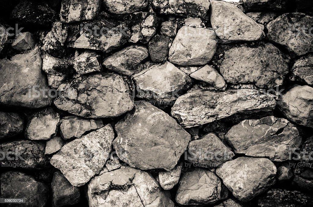 Textura de piedra de la pared  foto de stock libre de derechos