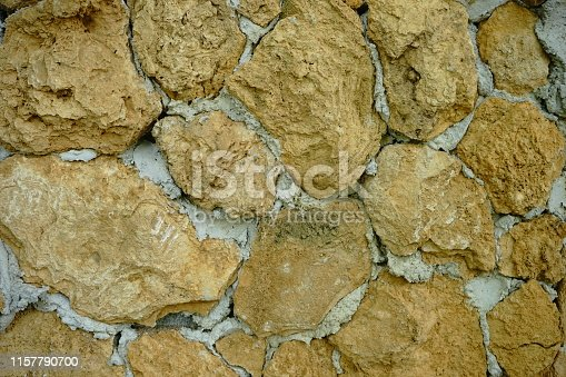 Stone Wall, Full Frame, Textured, Cobblestone, Pattern