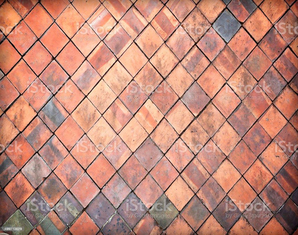 Stone wall tiles royalty-free stock photo