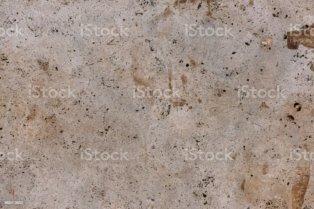 Stone wall with cracks light texture background - Zbiór zdjęć royalty-free (Abstrakcja)