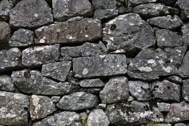 stone walll, parete di pietra a secco - gigifoto foto e immagini stock