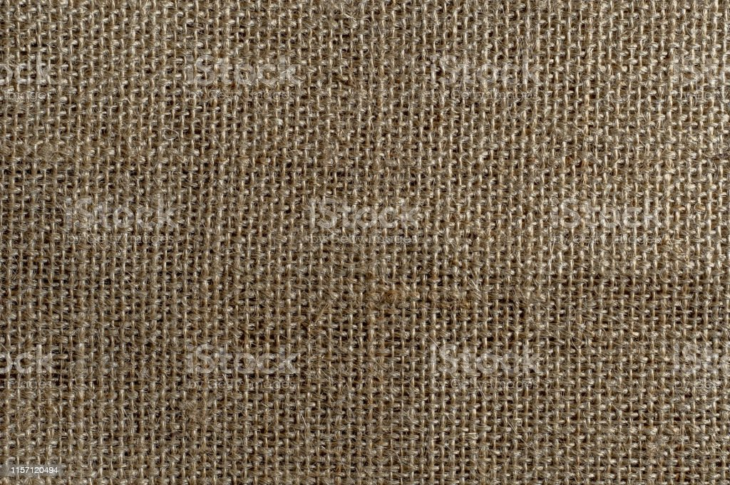 Stone washed pure linen texture. Wrinkled linen fabric background....