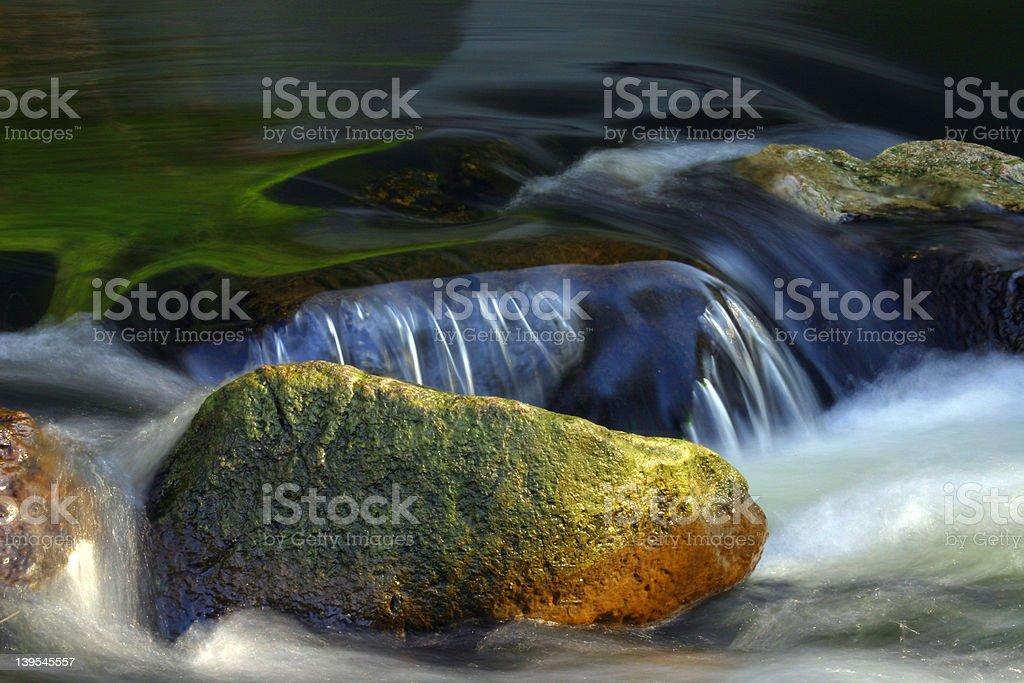 Stone & Water royalty-free stock photo