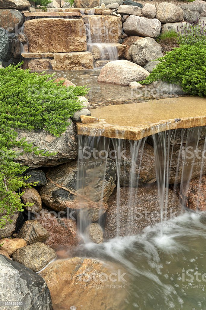 Stone Waterfall royalty-free stock photo