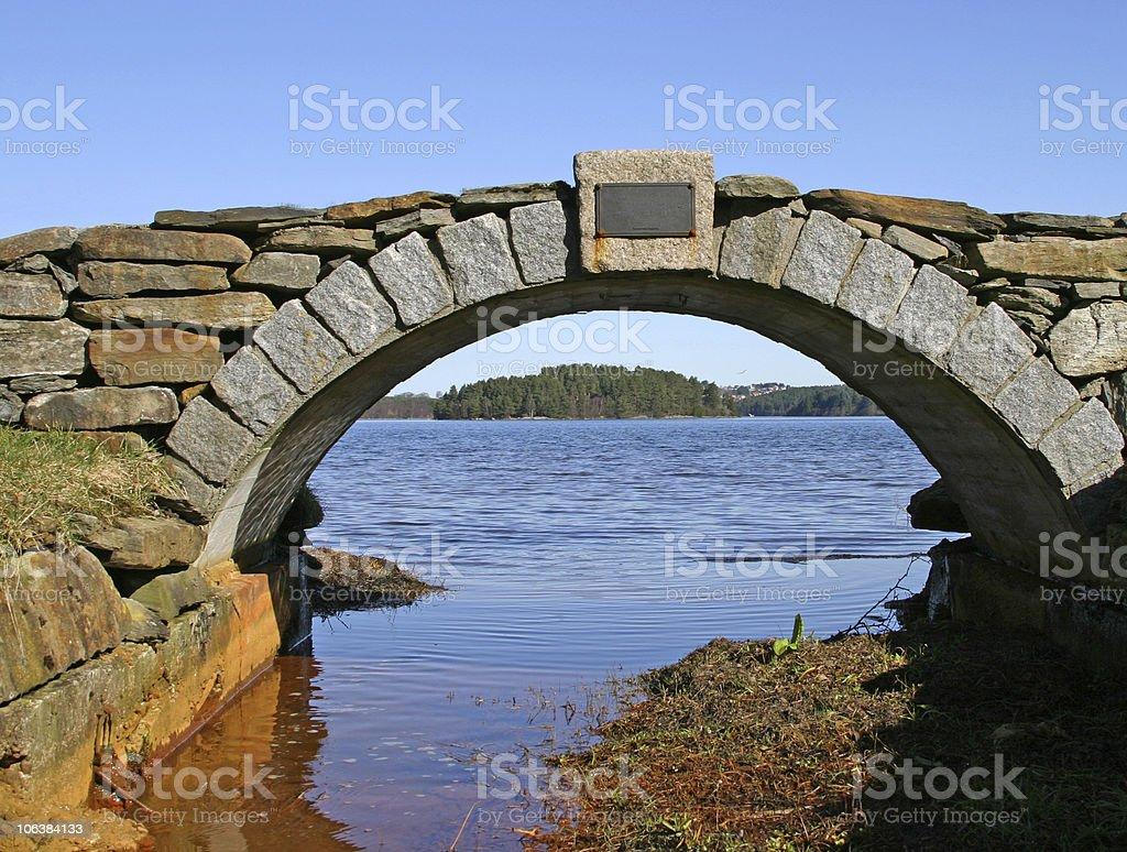 Stonebridge royalty-free stock photo