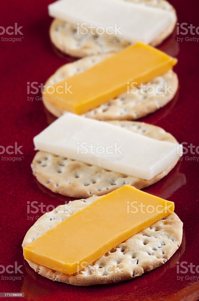 Stoneground Wheat Cracker stock photo