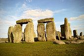 Stonehenge, Monument in England, UK, Closeup