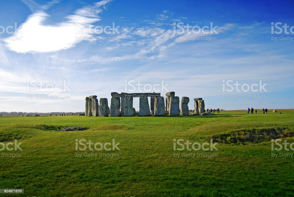 Stonehenge Monument stock photo