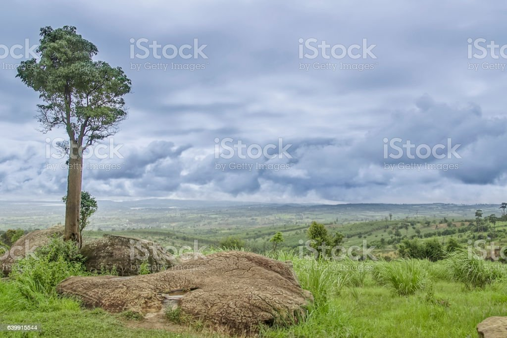 Stonehenge of Thailand , MOR HIN KHAOW CHAIYAPH stock photo