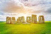 Stonehenge, prehistoric monument located at Wiltshire, England, United Kingdom