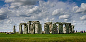 Stonehenge on a bright day