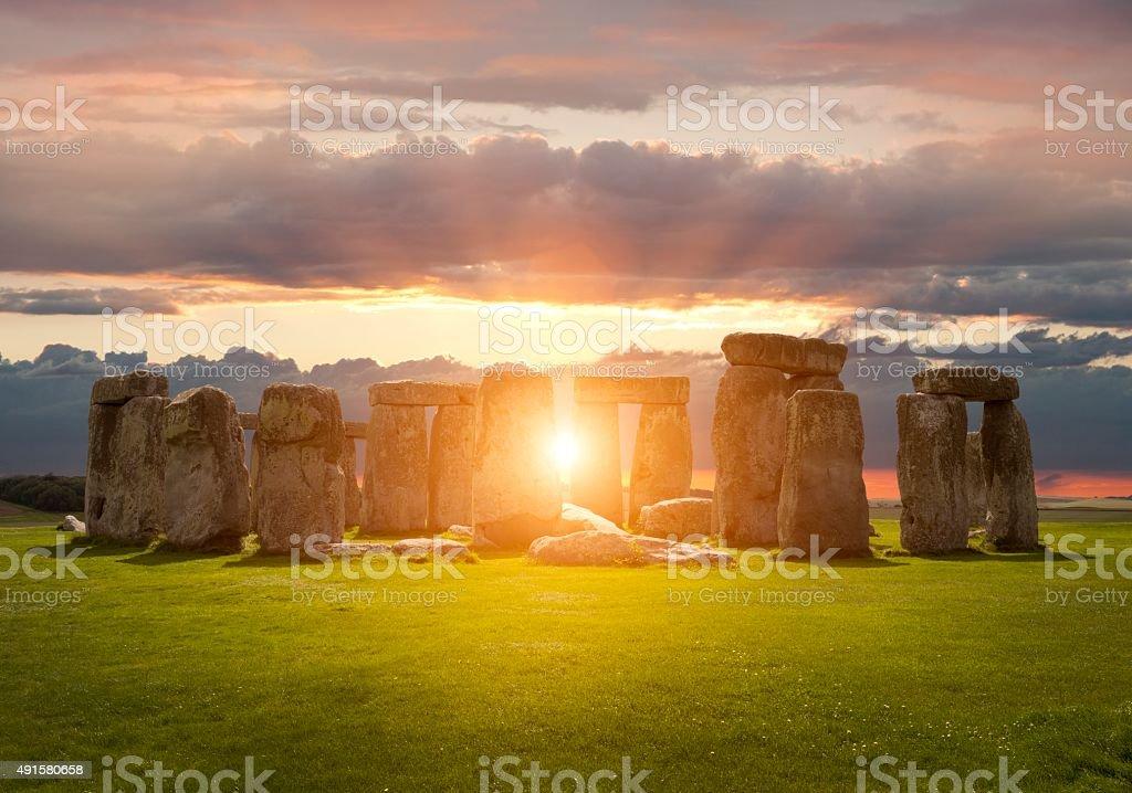 Stonehenge stok fotoğrafı