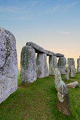 Stonehenge near Salisbury in South West England.
