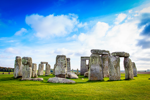 Stonehenge  is a prehistoric monument in Wiltshire, England