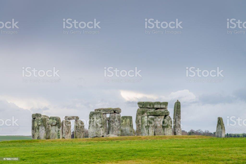 La plaine de Salisbury Stonehenge, Wiltshire UK photo libre de droits