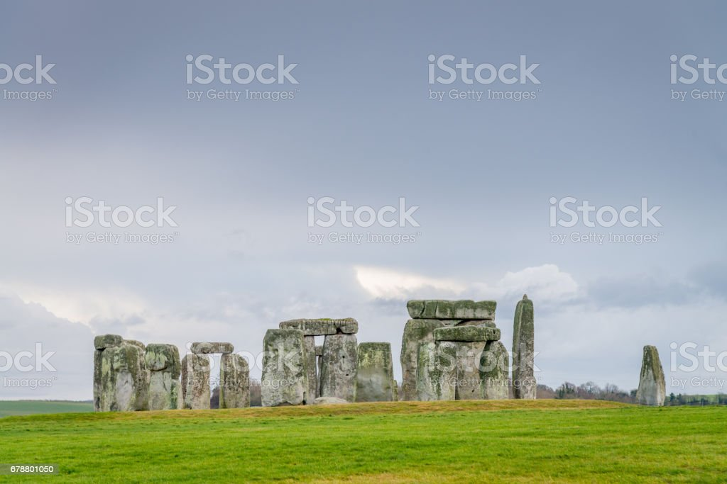 Stonehenge Salisbury Plain Wiltshire UK stock photo