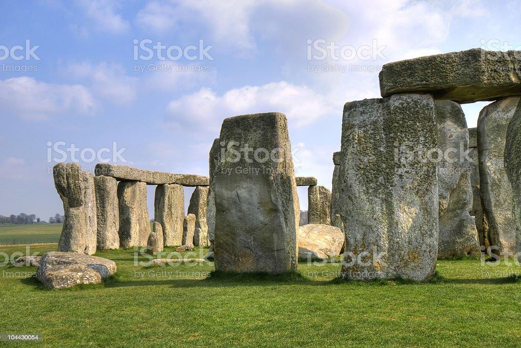 Stonehenge UK royalty-free stock photo