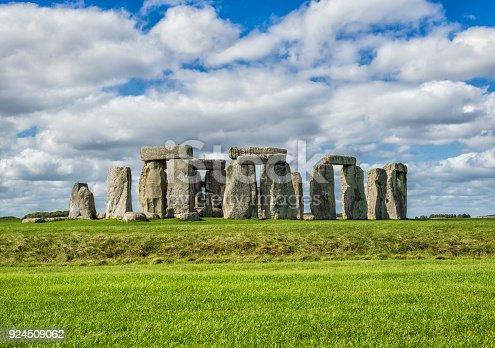 Beautiful clear day in Salisbury - Stonehenge, United Kingdom