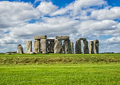 Beautiful clear day in Salisbury - Stonehenge, United Kingdom