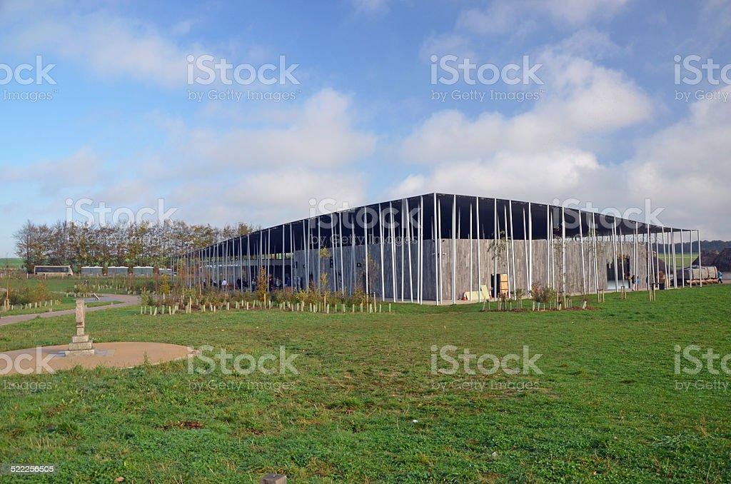 Stonehenge visitor centre stock photo