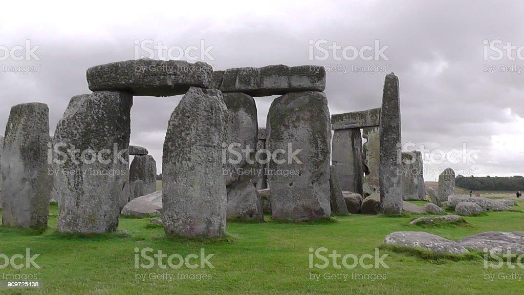 Stonehenge, Wiltshire, England stock photo