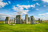 Stonehenge with beautiful sky in United Kingdom