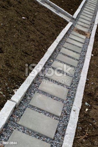 Stonepath - Fotografie stock e altre immagini di Calcestruzzo