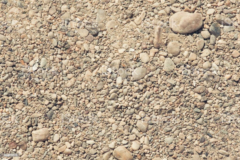 Stones and Sand Background - Royalty-free Backgrounds Stock Photo