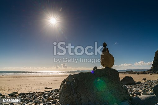istock Stones at Druidston Haven, Wales, UK 893395554