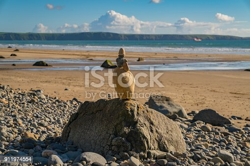 istock Stones at Druidston Haven, Wales, UK 911974554