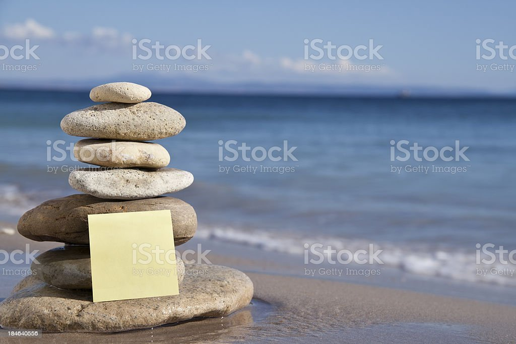 Stones balance royalty-free stock photo