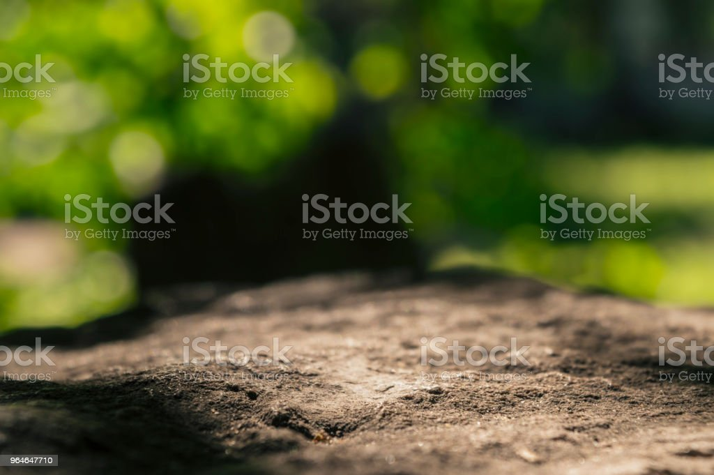 Stones bokeh royalty-free stock photo