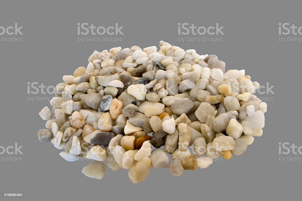 stones from the sea stock photo