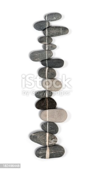 istock Stones in a row 182496448