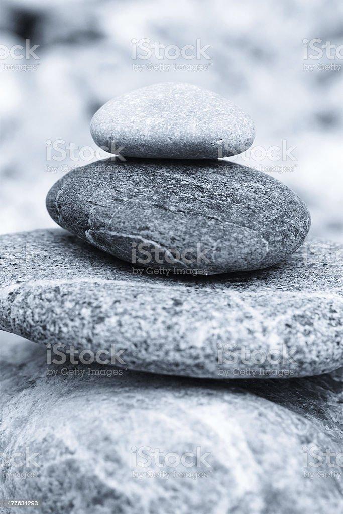 Stones in balance royalty-free stock photo