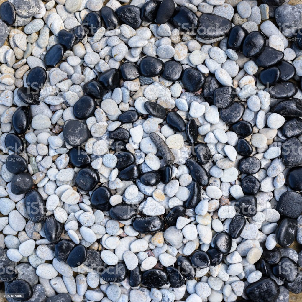 Stones in form of spiral stock photo
