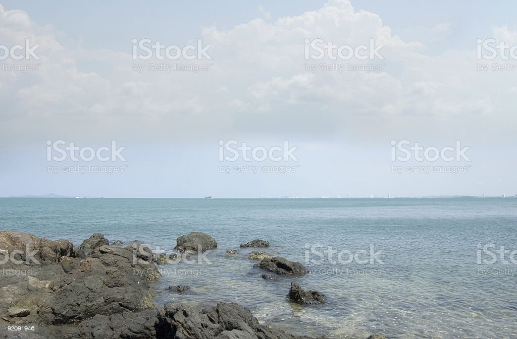 Stones in the water - #10 royalty-free stock photo