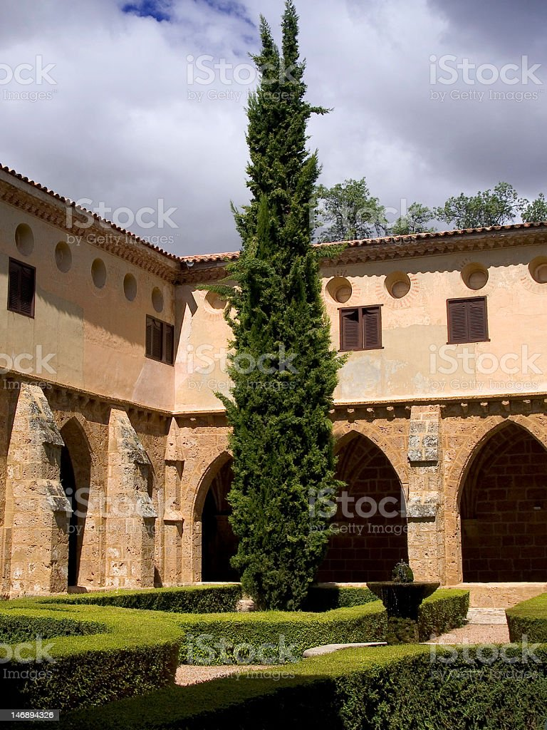 Stone's Monastery stock photo