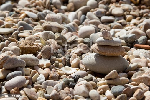 istock stones on the background of stones background 1151155455