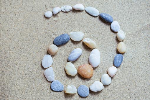 1026735510 istock photo Stones swirl 995628456