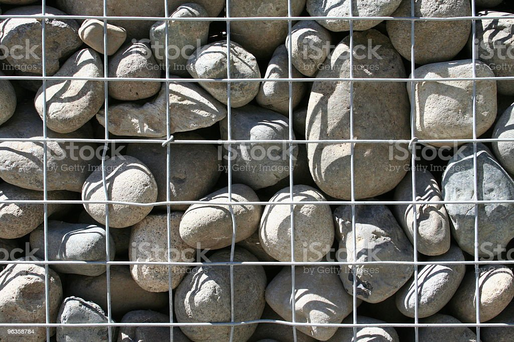 stones with grid stock photo