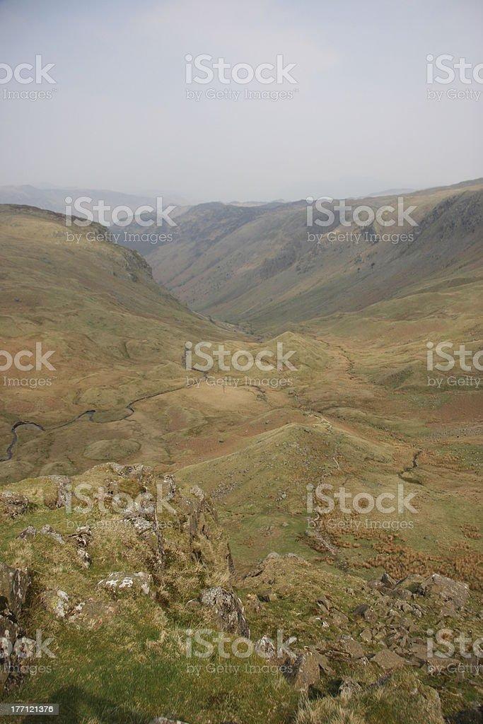 Stonethwaite Fell stock photo