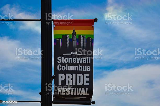 Stonewall Columbus Pride Festival Sign